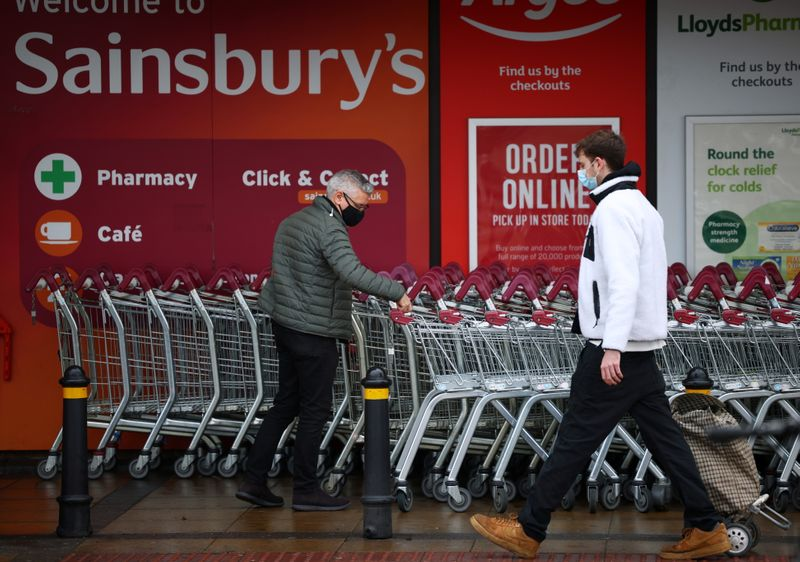UK supermarket group Sainsbury's to cut 500 office roles