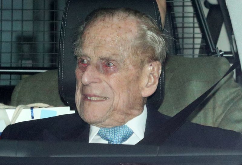 UK's Prince Philip remains in hospital after two weeks