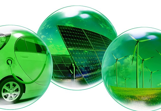 Ready to burst?: The bubble is green and has been fuelled by the huge appetite for investments in firms that have environmentally friendly credentials