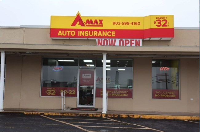 New A-MAX Auto Insurance office located at 1725 Texoma Pkwy in Sherman, TX