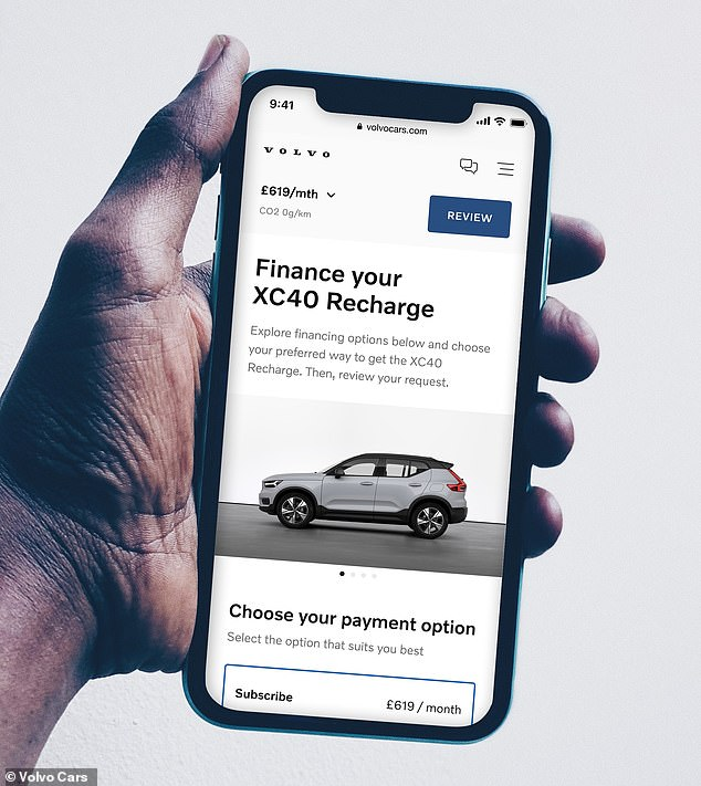Volvo plans to invest heavily in online sales channels as it looks to simplify the availability of trim levels and also accelerate the delivery process