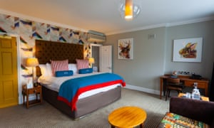 Bedroom at Richmond Harbour Hotel
