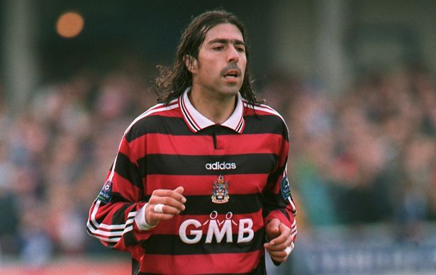 Robbie Herrera joined Fulham from Queens Park Rangers in 1993