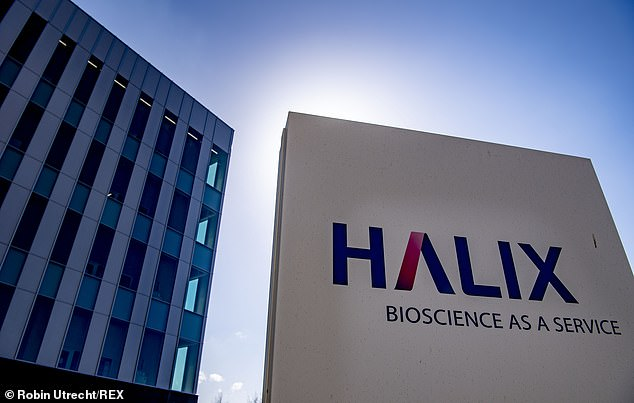 Initially, it was hoped that Brussels and London could split the jabs produced at Halix (pictured)