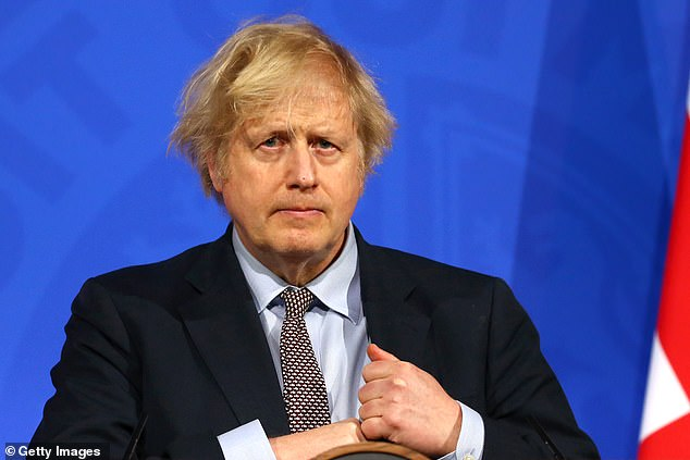 While the UK invested upwards of £20million in the plant, a bloc official said the EU had not spent any money on it at all. Pictured: Boris Johnson