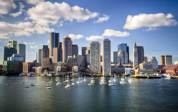 Boston in America - where vaccine rollout rates are high meaning it is likely to be placed on the list of 'green' destinations