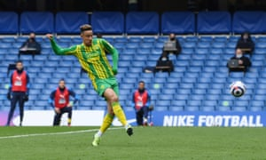 Callum Robinson fires in the third for the Baggies.