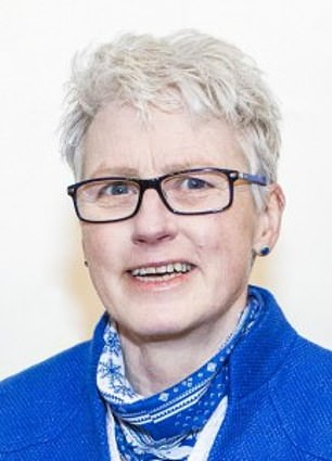 Prof Trish Greenhalgh said: 'Distancing round the sinks and urinals would only work if the mode of transmission were limited to droplets. The virus is airborne. We need to ventilate to reduce its transmission'