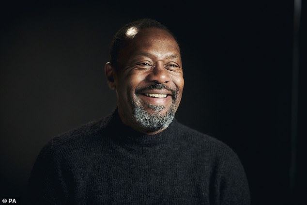 Film stars Chiwetel Ejiofor and Thandie Newton, author Malorie Blackman and radio DJ Trevor Nelson are among the signatories of an open letter by Sir Lenny Henry, pictured above, urging black Britons to get the Covid-19 vaccine