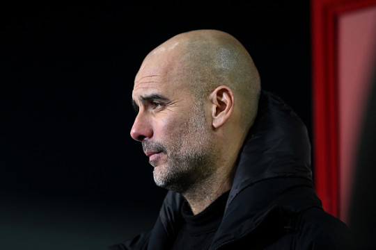 Guardiola is yet to get past the Champions League semi-finals in his time as City boss