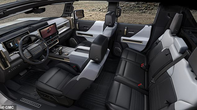 The five-seater SUV is about nine inches shorter than the new Hummer EV pickup and has about 170 less horsepower