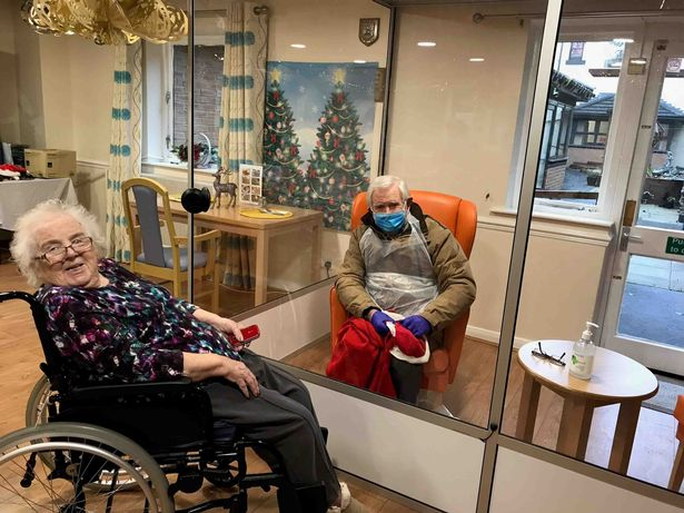 Care home residents in England will be allowed two regular visitors indoors from April 12