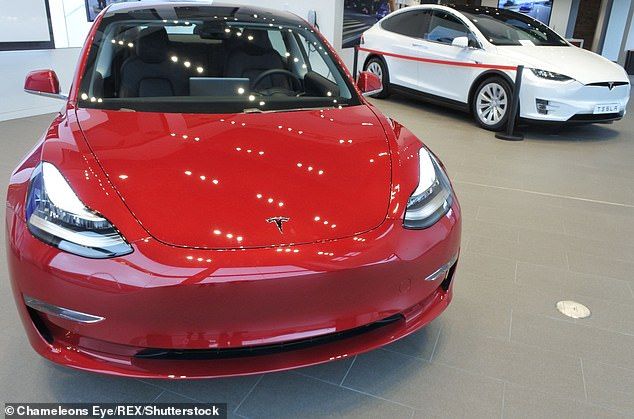 The Tesla Model 3 electric car was the fourth most-registered model in March, as buyers flocked to purchase the vehicles before they became ineligible for government-backed grants