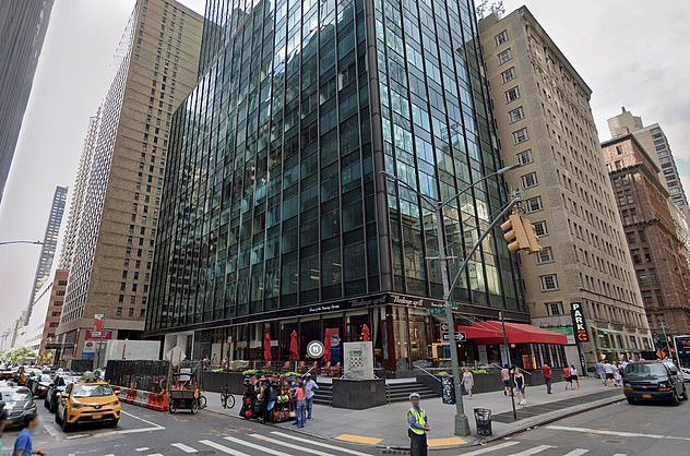 Archegos Capital Management is based in this office on 7th Avenue in Midtown Manhattan