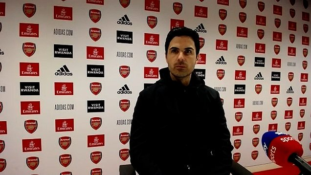 Arsenal 0 - 3 Liverpool: Mikel Arteta post-match press conference