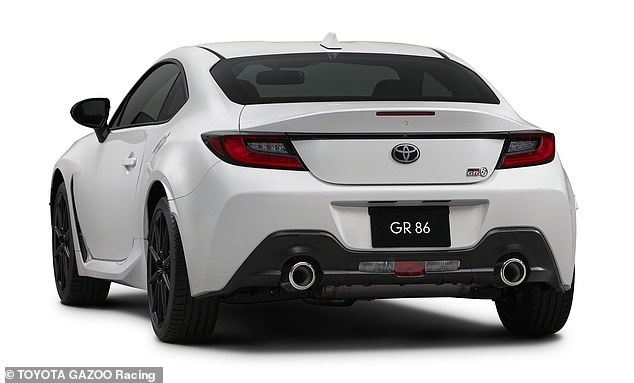 The GR86 is expected to be the lightest four-seater coupe in its class, thanks to weight-saving initiatives such as using aluminium for the roof and body panels