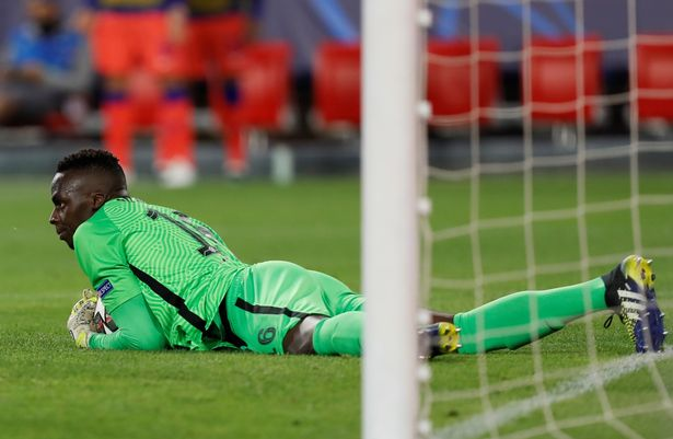 Chelsea shot-stopper Mendy was equal to the chances Porto fashioned
