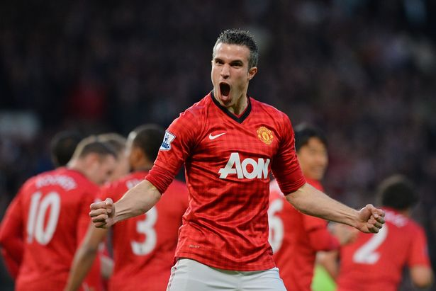 Robin van Persie helped Manchester United win the title in his maiden season