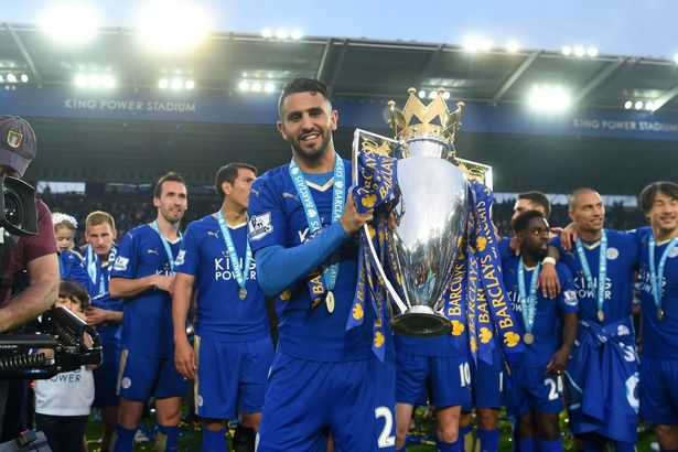 Riyad Mahrez starred as Leicester lifted the 2016 Premier League title