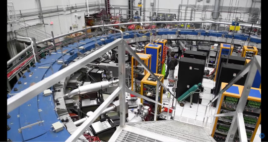 The long-awaited first results from the Muon g-2 experiment at the U.S. Department of Energy?s Fermi National Accelerator Laboratory show fundamental particles called muons behaving in a way that is not predicted by scientists? best theory, the Standard Model of particle physics. This landmark result, made with unprecedented precision, confirms a discrepancy that has been gnawing at researchers for decades. The strong evidence that muons deviate from the Standard Model calculation might hint at exciting new physics. Muons act as a window into the subatomic world and could be interacting with yet undiscovered particles or forces.