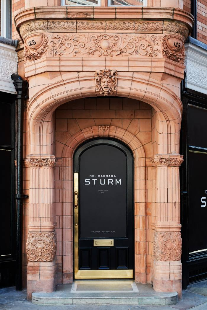 Sturm's new London flagship at 125 Mount Street