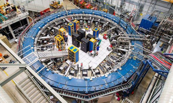 The findings came from the US Muon g-2 experiment