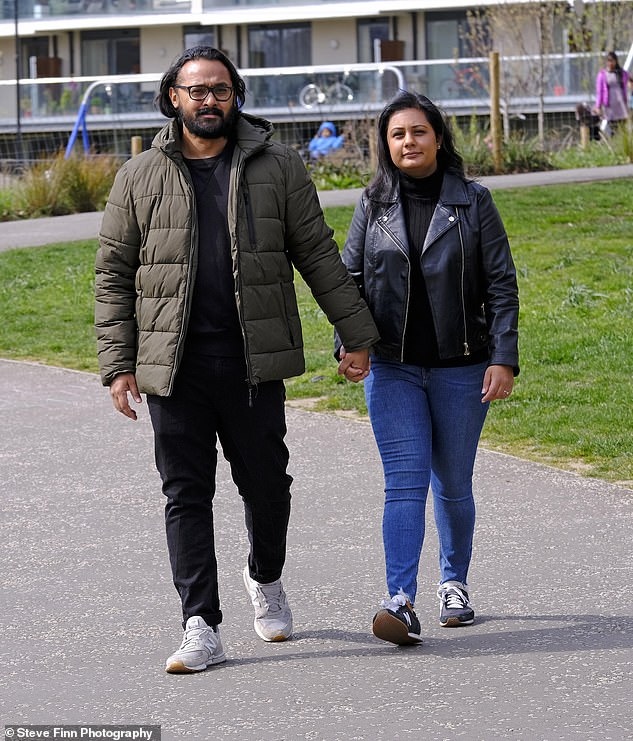 Mohammed, who lives with Alia, 31, in Poplar said that despite his experience he would still advise anyone to have the jab
