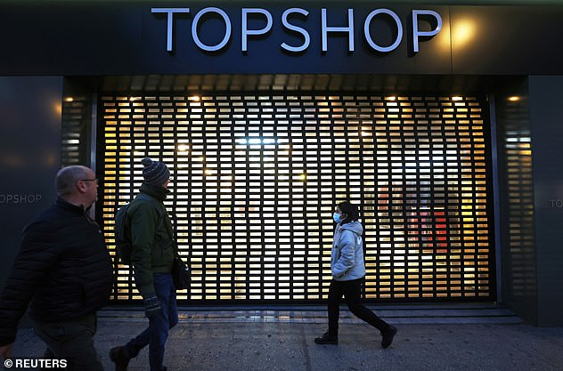 Big shops on Oxford Street dealt a killer blow by the pandemic include Topshop and Gap