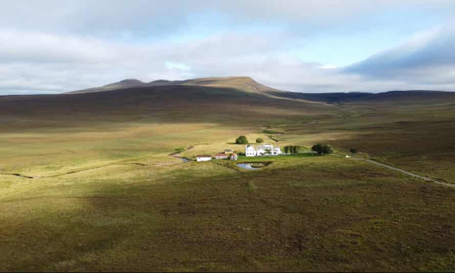 The most remote? Garvault House.