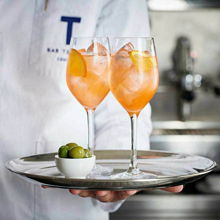 Classic Italian aperitivi are the order of the day at Bar Termini