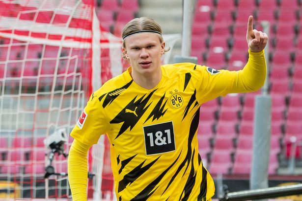 Haaland is one of the most promising talents in Europe and is heavily linked with a summer transfer