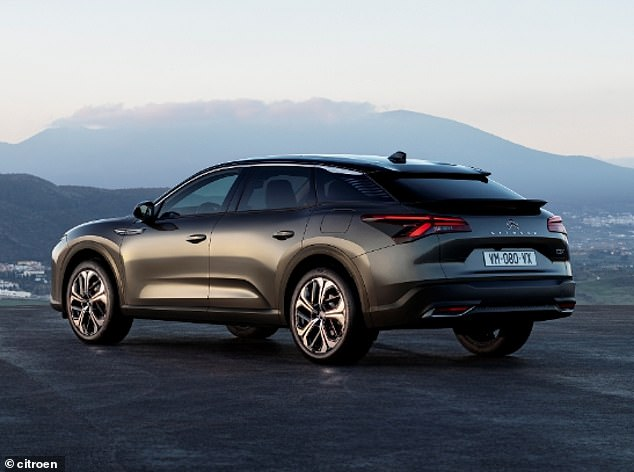 The Citroen CX5 combines saloon, estate and SUV to create a big luxury French car for the 21st century and prices will start at between £27,000 to £30,000