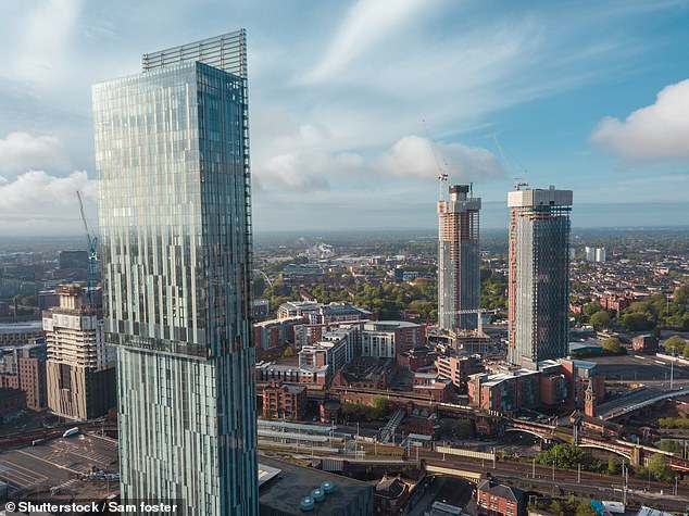 Although Manchester property prices have risen, estate agents say that its city centre apartments have played little part in that growth