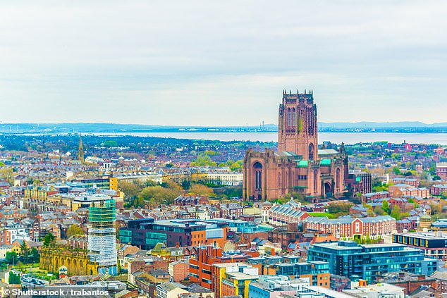Property prices in Liverpool have surged by more than any other town or city in the UK since March 2020, according to the latest Land Registry data