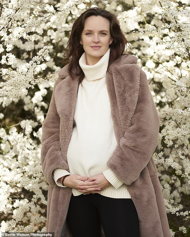 She is telling her story now to give others hope, as she is pregnant again ¿ 'by accident, like before' ¿ and her baby is due this month. It is a surprise, as having only one fallopian tube can reduce the chance of getting pregnant, and so does endometriosis