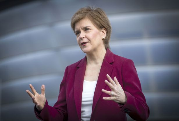 Nicola Sturgeon said the PM could not stand in the way of another independence vote if the SNP wins a majority at the Holyrood elections next month