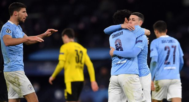 The Premier League leaders take a 2-1 lead to Germany