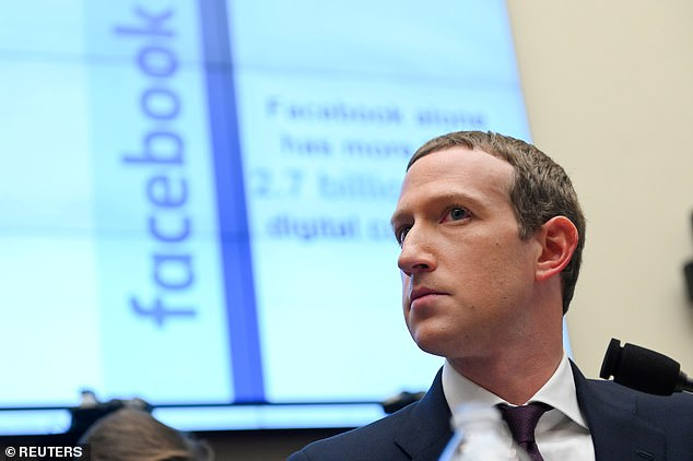 The panel of experts to rule on content was first proposed by Facebook founder Mark Zuckerberg (pictured) in 2018