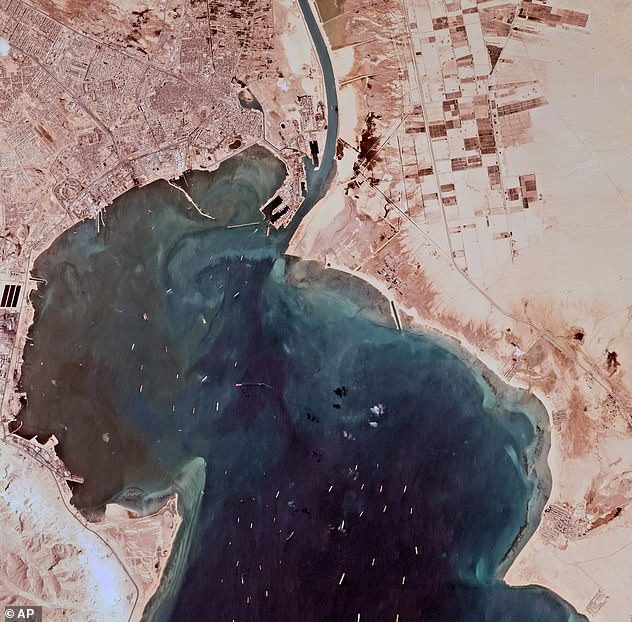 The Suez Canal is one of the busiest shipping lanes in the world as it creates the shortest distance for vessels to cross from the Indian Oceans into the Atlantic