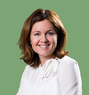In charge: Clare Gilmartin led the digital rail ticketing company to its float in 2019