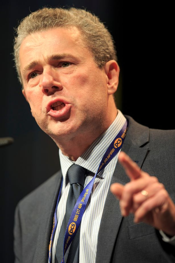 Mark Serwotka of the PCS hit out at the plans