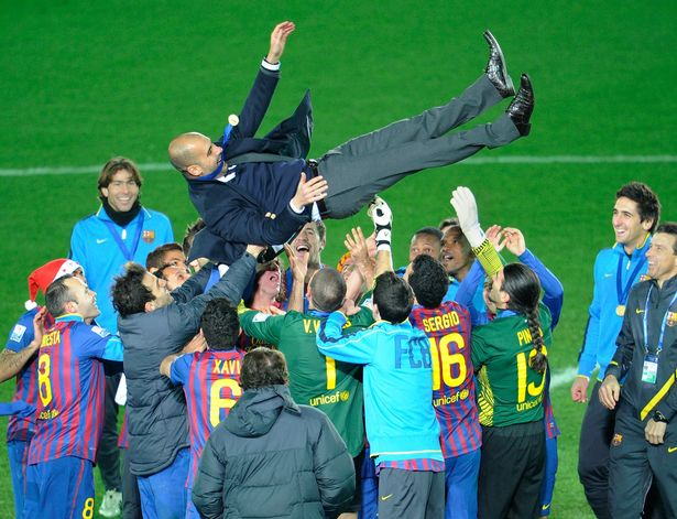 The Spaniard enjoyed a glittering four-year spell as Barcelona boss