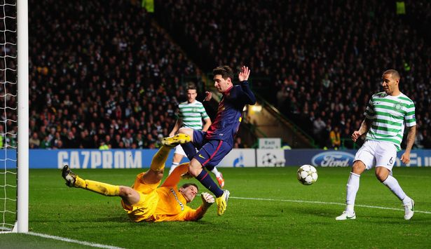Forster was in the Celtic side that beat Barcelona in 2012