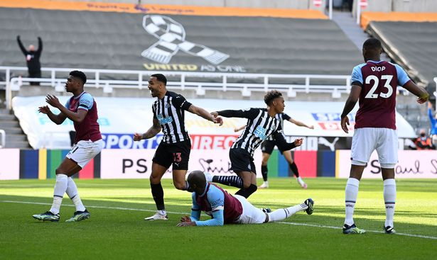 Newcastle's winner took them closer to safety