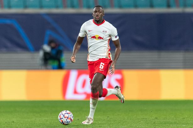 Ibrahima Konate has distanced himself from speculation over a move to Liverpool
