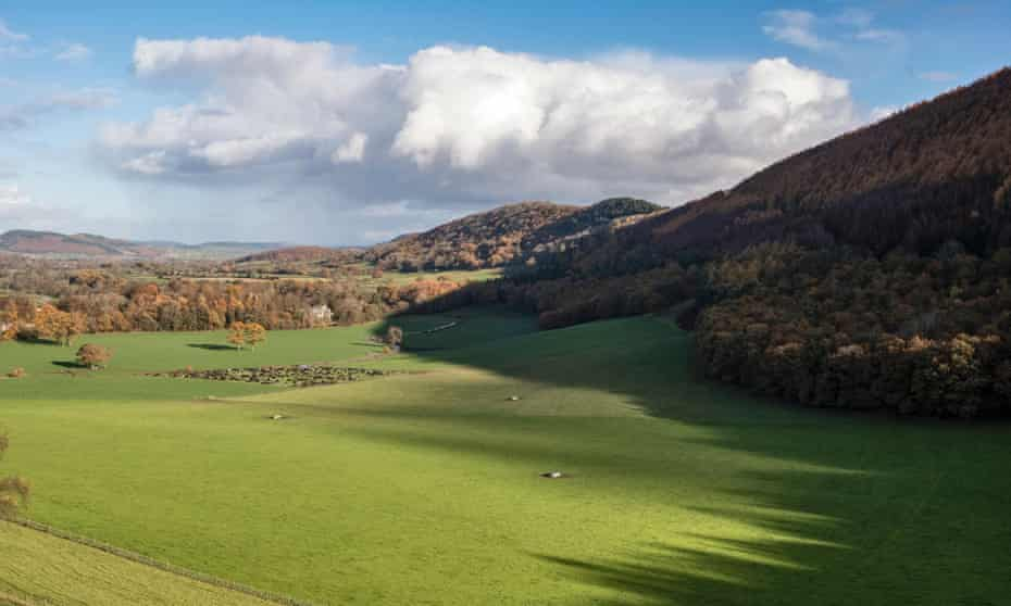 Hindwell valley, Herefordshire