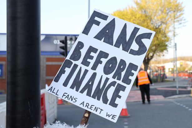 The plans have been met with fury by fans across the Premier League