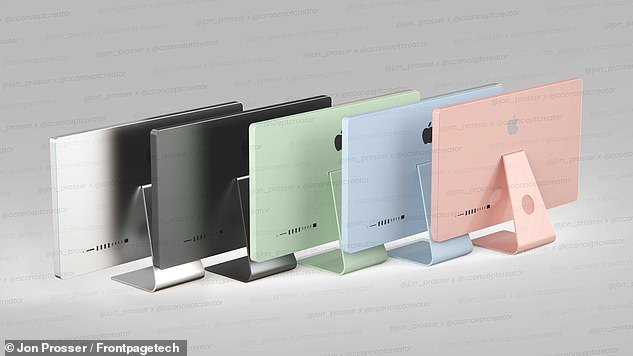 A video shared by well-known Apple leaker Jon Prosser on YouTube shows renders of the redesigned system in options for silver, space gray, green, sky blue and rose gold
