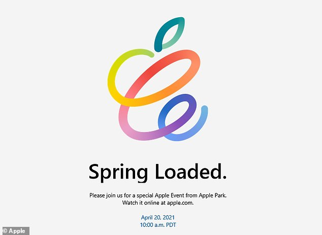 Apple confirmed the date and time (April 20, 18:00 BST) of Spring Loaded in a press invite on April 13