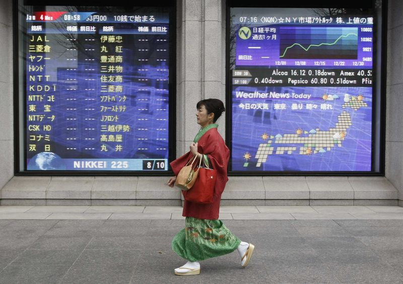 Japan shares lower at close of trade; Nikkei 225 down 2.03%